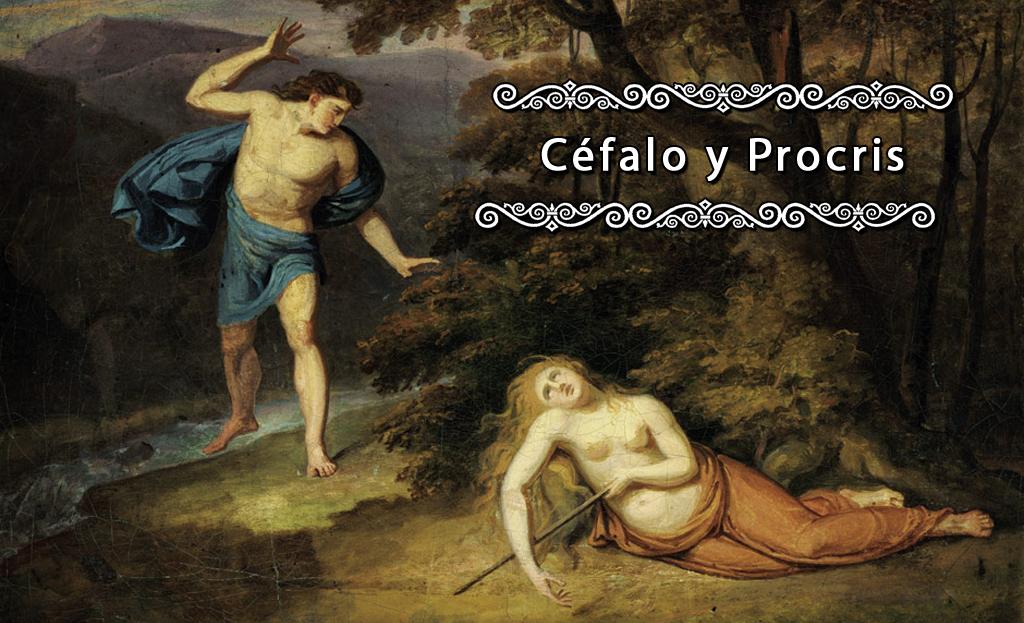 Alexander Macco - Cephalus and Procris
