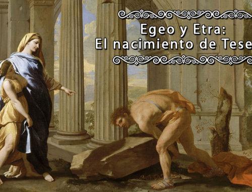 Thésée retrouve l'épée de son père - Poussin (c1638)