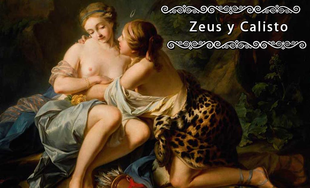 """""""Júpiter y Calisto"""", de Jean Simon Berthelemy"""