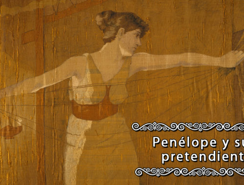 """Penelope Unraveling Her Work at Night"" (1886), Dora Wheeler"