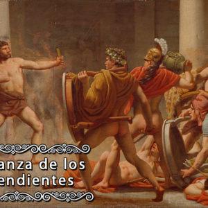 Ulysses' revenge on Penelope's suitors, Christoffer Wilhelm Eckersberg